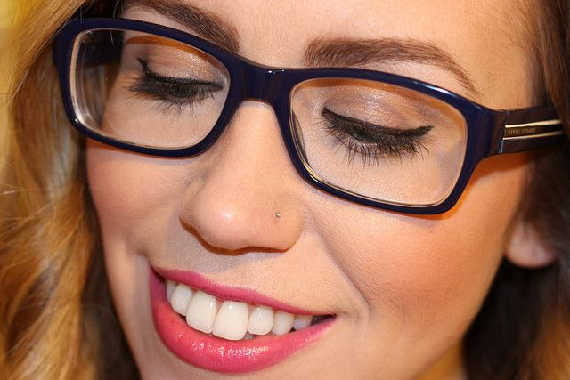 Everyday Makeup with Glasses on Living After Midnite