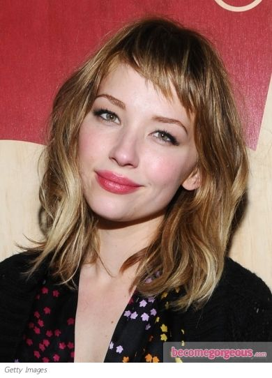 Pictures : Haley Bennett Hairstyles - Haley Bennett Bob Hairstyle with Short Bangs