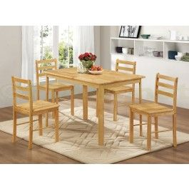 124 99 Derby Oak 4 Seater Dining Set Is A Very Stylish Set Of Dining