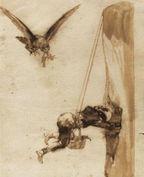 Artist: Goya    The nest thief