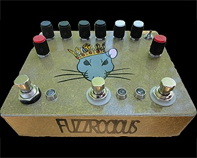 Fuzzrocious Rat King bass pedal  #fuzzrocious #ratking #bass #pedal #gear