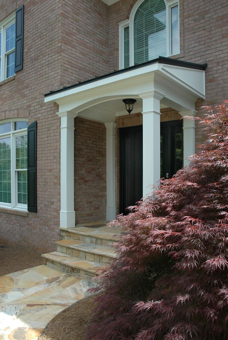 Best 25 Porticos Ideas On Pinterest Portico Entry Side