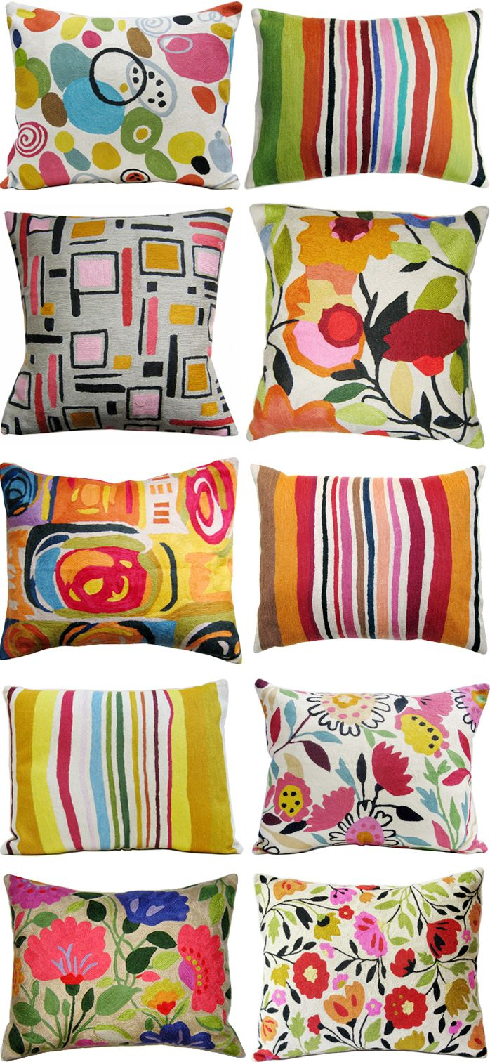 Cheap throw pillows for couch - Kim Parker Bedding Kim Parker Home Designer Pillow Collection