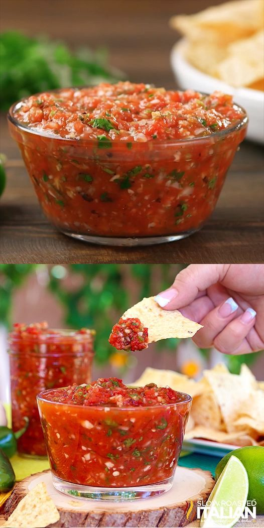 Lazy Day Salsa – Recipes for a healthy life – #…