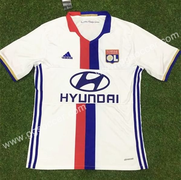2016/17 Lille OSC Home White Thailand Soccer Jersey-Lille,Thailand Quality Football Club  topjersey