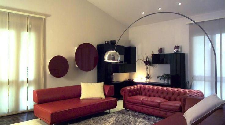 Ristrutturazione di una villa in Toscana. Eleganza e versatilità del Travertino | RistrutturareOnWeb #villa #pietra #travertino #camino #illuminazione