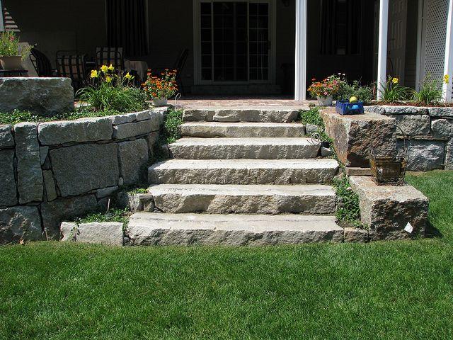 Relaimed Granite Steps | Flickr   Photo Sharing!