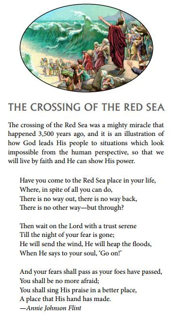 quotes from crossing the red sea If we imagine the bitter lakes joined to the red sea by a narrow and shallow channel, and a south-east wind blowing strongly up this channel, we can easily conceive .