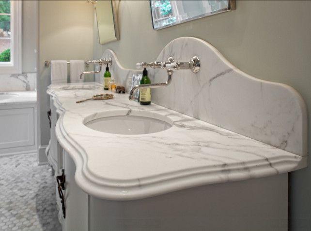 bathroom countertop marble bathroom countertop ideas the marble countertop in this bathroom is 3