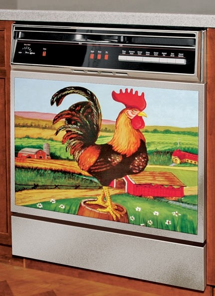 Rooster Dishwasher Magnet E2987 1 Kitchen Pinterest