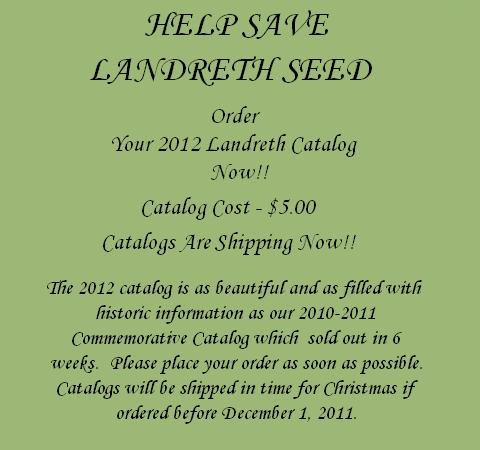 help save landreth seed company the oldest seed house in america heirloom seeds and