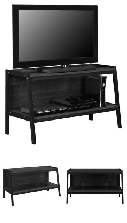 Tv Stand Gaming Console Storage Entertainment Center Black Living Room Relax  #AltraFurniture#TV,#Stand,#Gaming,#Entertainment,#Media,#Furniture,#Home,#Theater,#Storage