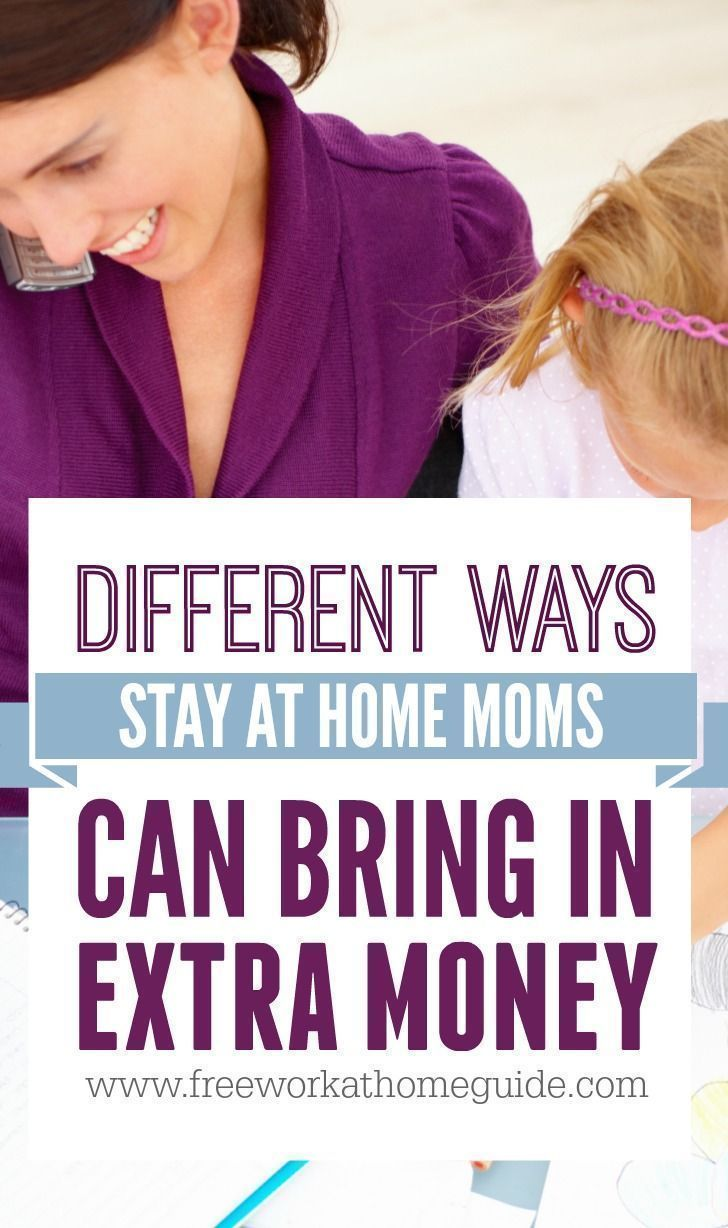 Different Ways Stay At Home Moms Can Bring In Extra Money Online