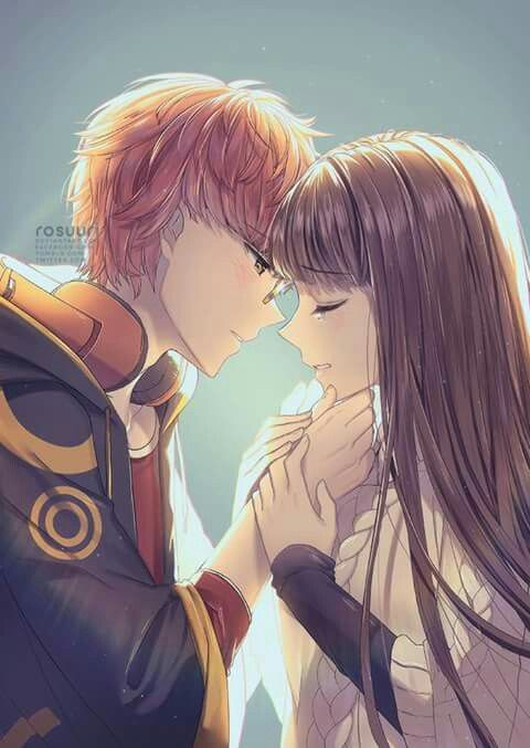 17 best ideas about hot anime couples on pinterest - Manga couple triste ...