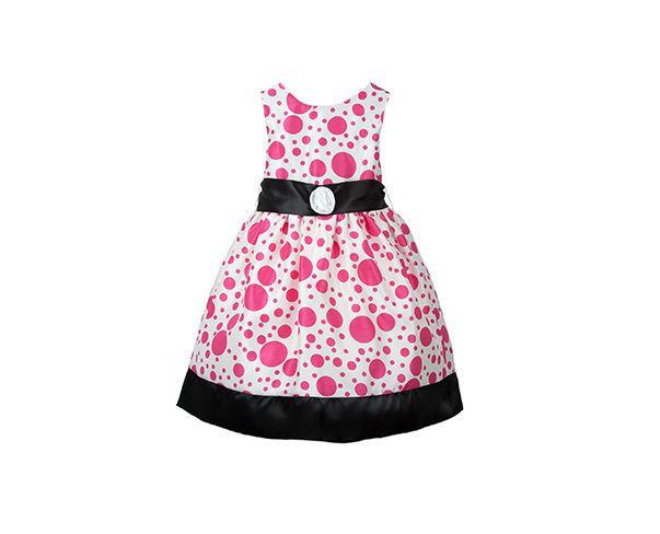 Šaty jako by skutečně vypadly ze šatníku malé Alenky v říši za zrcadlem.
