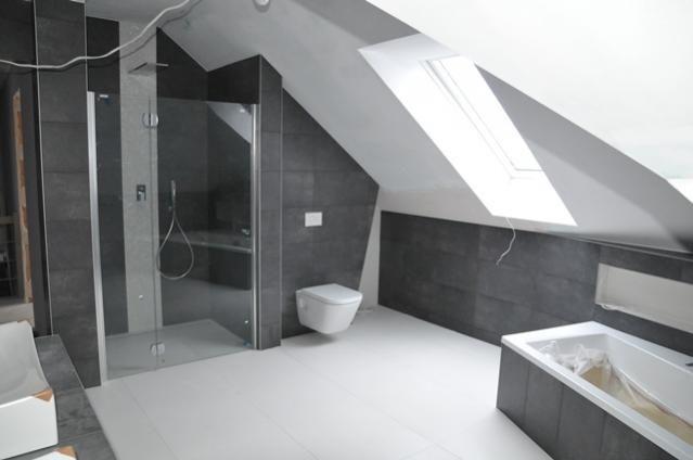 Realizacja domu wg. projektu Julka MG Projekt - Łazienka