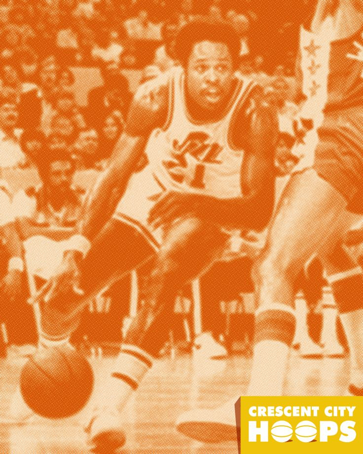 We love Truck Robinson, New Orleans Jazz All-Star in 1978. More on Truck and New Orleans Pro Basketball History at CrescentCityHoops.com #truckrobinson #neworleans #jazz #basketball #history