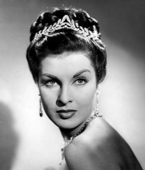 Italian actress Silvana Pampanini, 1950s