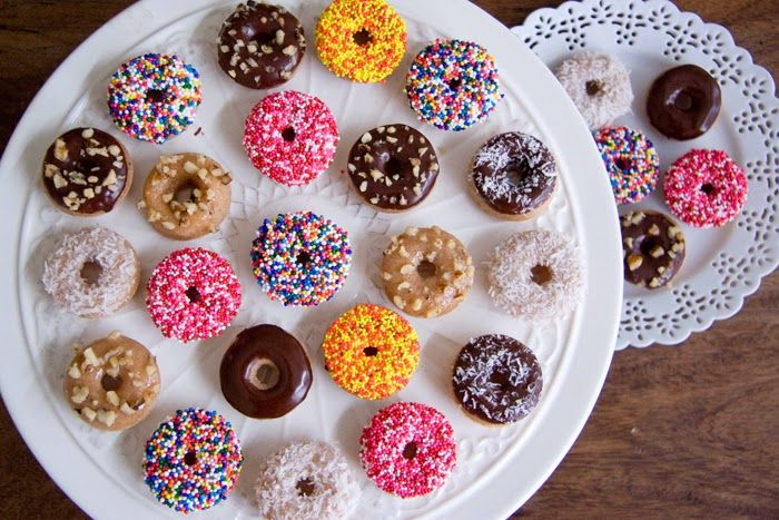 The Best Baked Mini Donuts Recipe