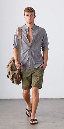 Another Example Of Button Up With Rolled Up Sleeves I Also Really Like The Bag I Don 39 T Know If