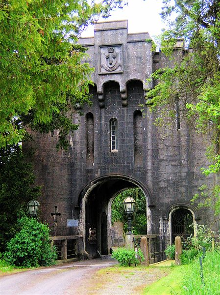 Birr Castle, County Offaly, Ireland.