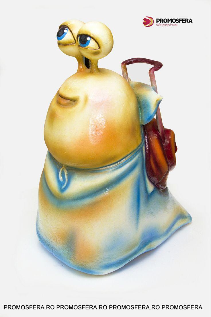 Polystyrene Snail