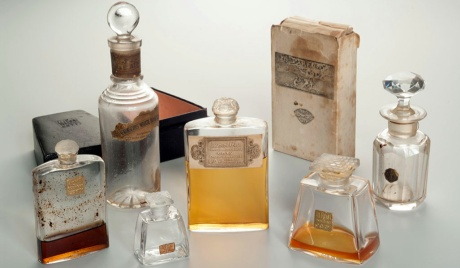 Collection of perfume used by Alexandra and Nicholas, II