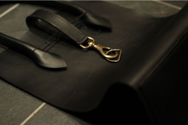 The making of the black bag