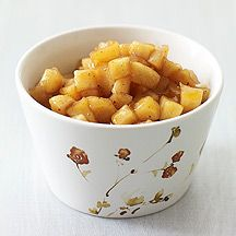 Weight Watchers Apple Pie Filing-- Spoon this filling into your favorite premade pie crust or mini dessert cups. Or swirl some into hot oatmeal for a delicious morning treat. [2 points]