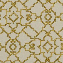 Scroll Maize - Robert Allen Fabrics Honeysuckle