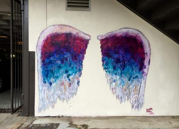 How artist Colette Miller creates angels out of humans with the Global Angel Wings Project — made in the districtMADE IN THE DISTRICT