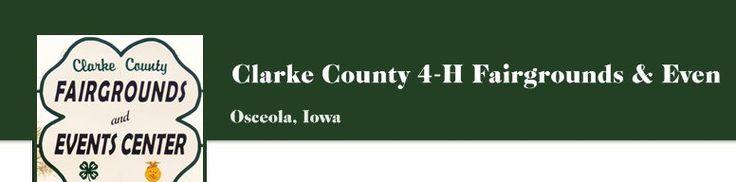 Clarke County 4-H Fairgrounds & Event Center - Osceola, Iowa