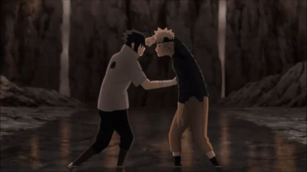   Naruto vs Sasuke The Final Battle   GIF made by me :3 from Episode 478 <3 ;_; nouuuuuuu!!!