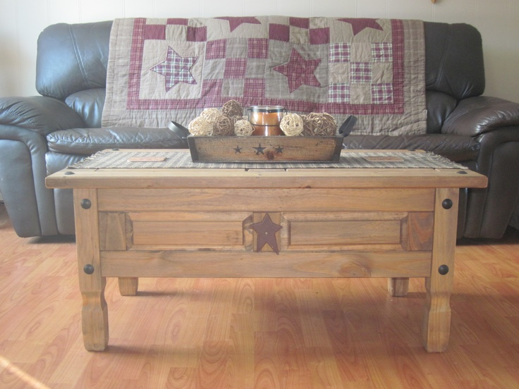 Coffee Table Primitive Rustic Country Decor