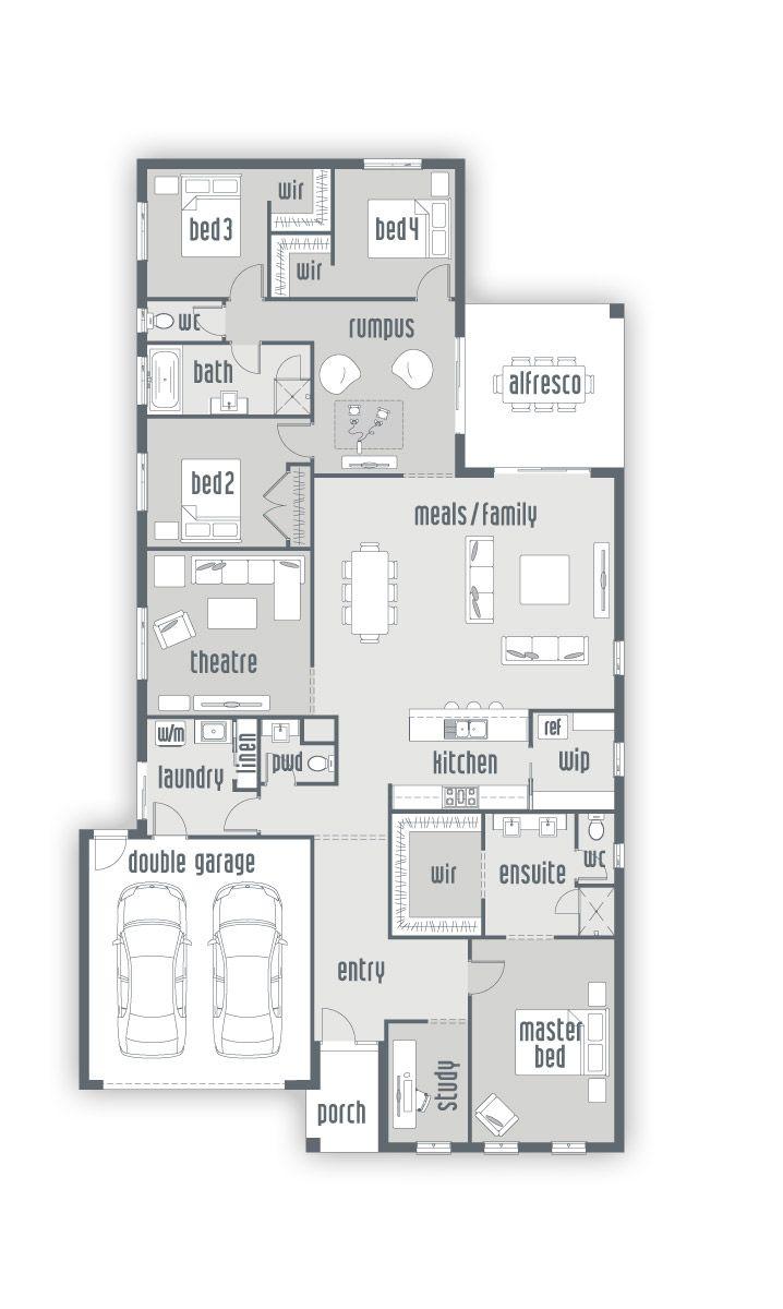 Building House Solander   New Home Designs   Urbanedge Homes - Melbourne Builders
