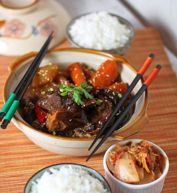 Kalbi (Korean BBQ Beef Short Ribs) Recipe — Dishmaps