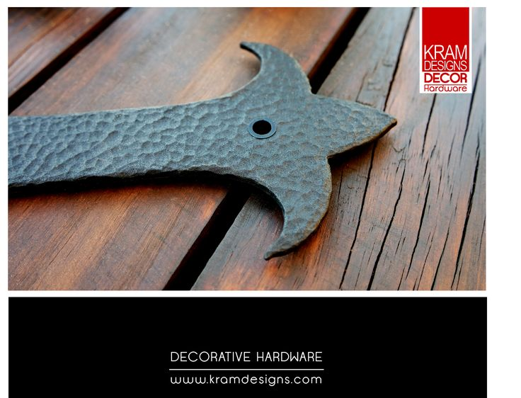 Try Kram Designs Decorative Hardware to transform your home with a Spanish touch.