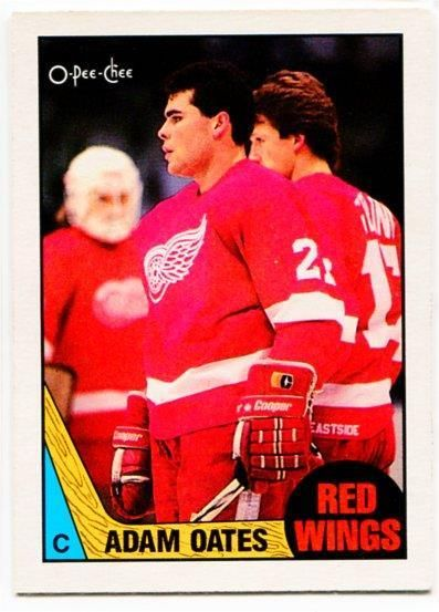 http://www.bonanza.com/listings/1987-88-OPC-Adam-Oates-Rookie-Card-123-Detroit-Red-Wings/456125966 #adamoates #hockeycards #NHL #RedWings