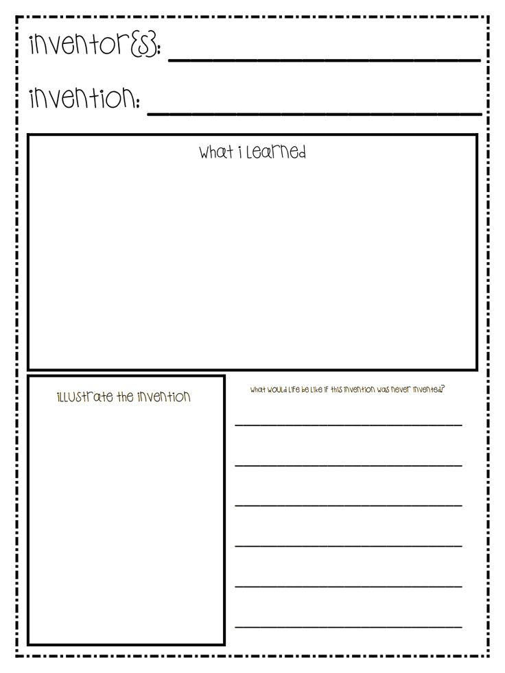 Worksheet for students to display their knowledge of famous inventors, their invention's, and the invention's impact on society. AJH