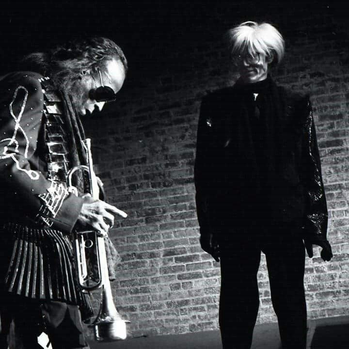 Miles and Andy, the Tunnel 1986 photo: Jonnie Miles