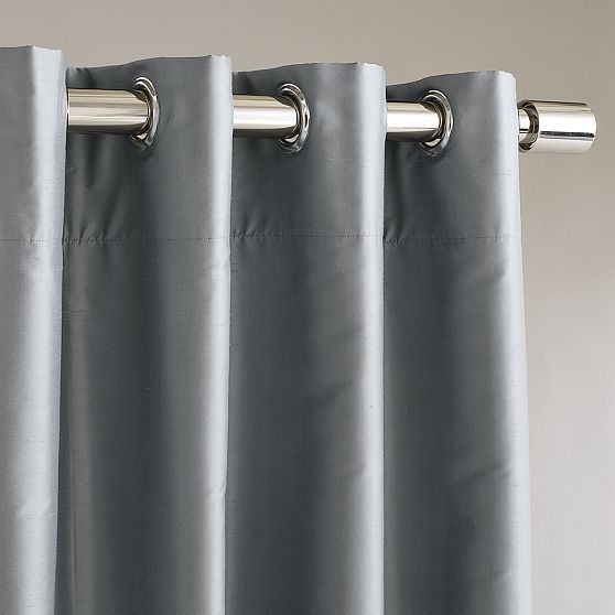 Simple And Streamlined, The Oversized Metal Rod Includes Mounting Hardware,  So Itu0027s Simple To Hang Your West Elm Curtains.
