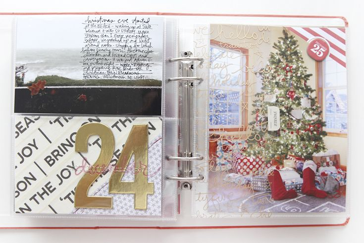 Ali Edwards | Blog: December Daily® 2014 | Day Twenty-Four And Twenty-Five #decemberdaily