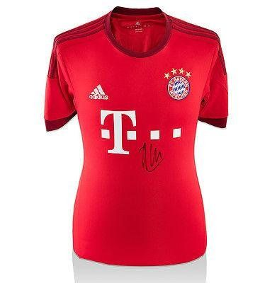 Xabi Alonso Signed Jersey - Bayern Munich Shirt 2015 16 Home - Autographed Soccer Jerseys * Check this awesome product by going to the link at the image.