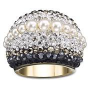Chic Royalty Swarovski Ring