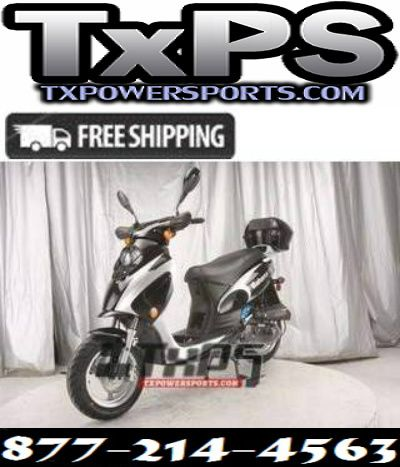Vitacci Bahama 50cc Qt 6 Scooter 4 Stroke Air Forced Cool