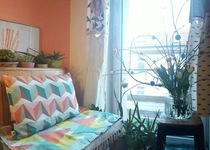 Frühjahrsputz und warten auf Balkonien. (neue Balkontür in baulichen Maßnahmen)