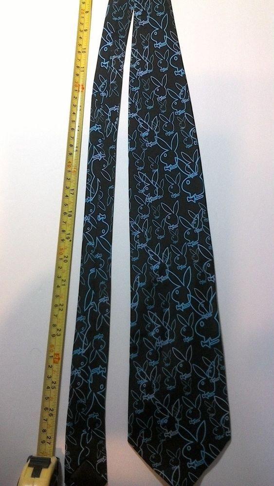Playboy Bunny Silk Novelty Tie #Playboy #Tie