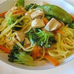Noodle salad recipe - VERY tasty!