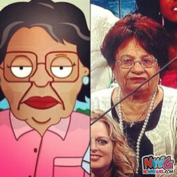 Consuela From Family Guy Is Real! This is so wrong, but so funny!!!