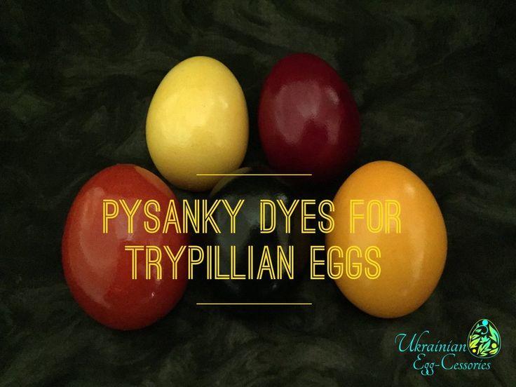 #14 - Trypillian Pysanky Dye Set